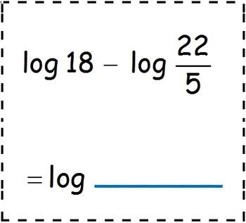 log math worksheets log best free printable worksheets. Black Bedroom Furniture Sets. Home Design Ideas