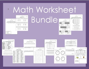 Math Worksheet Bundle