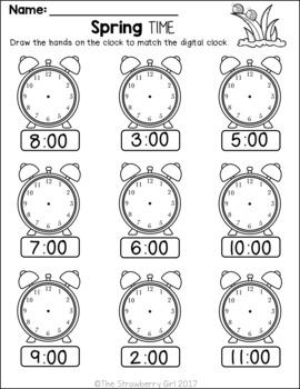 Kindergarten Math Worksheets - All Seasons Bundle