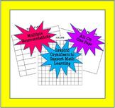Math Worksheet - Multiple Representation Template
