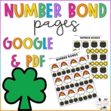 Math Worksheet: Numbers, Number Bonds, and Fact Families | March