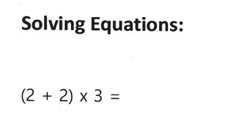 Math Worksheet: Solving Equations with Parentheses - 22 ...
