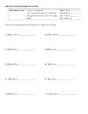 Math Worksheet: Solving for Percentage of a Number