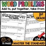 Math Worksheets 1.OA.A.1 STANDARD Practice
