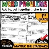 Math Worksheets 1.OA.A.1 STANDARD Practice
