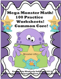 review Math Printables! 100 worksheets! GRADES 4 - 6