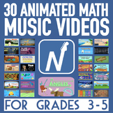 30 Math Song & Music Video Animations [HD 720p] - For 3rd-