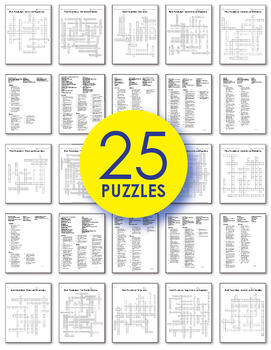 Math Worksheets - 7th Grade Math Vocabulary Crossword Puzzles