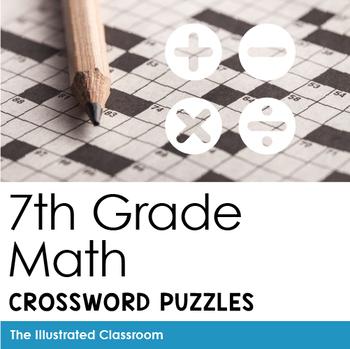 Math Worksheets - 7th Grade Math Vocabulary Crossword