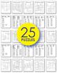 Math Worksheets - 7th Grade Math Vocabulary Crosswords