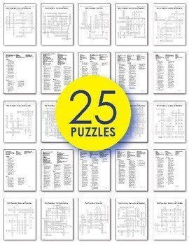 math worksheets 8th grade math vocabulary crossword puzzles tpt. Black Bedroom Furniture Sets. Home Design Ideas
