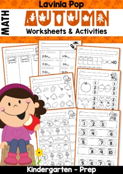 Autumn / Fall Math No Prep Worksheets & Activities