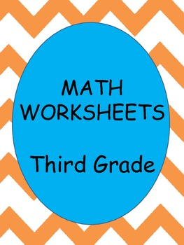 Math Worksheets  - Addition, Subtraction, Multiplication
