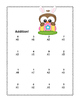 Math Worksheets Addition to 20 -Easter Theme -CCSS.MATH.CONTENT.1.OA.C.6