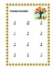 Math Worksheets Addition to 20 Practice Plus Word Problems -Fall Theme