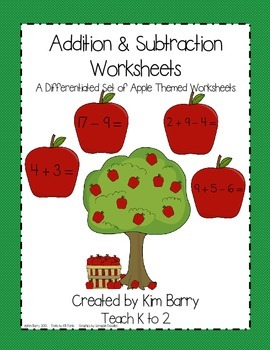 Math Worksheets - Apple Edition