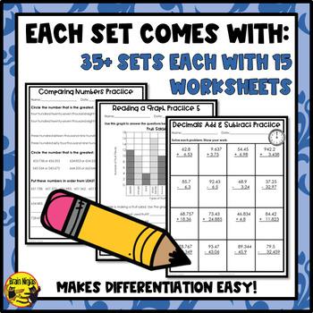 Math Worksheets Grade 5