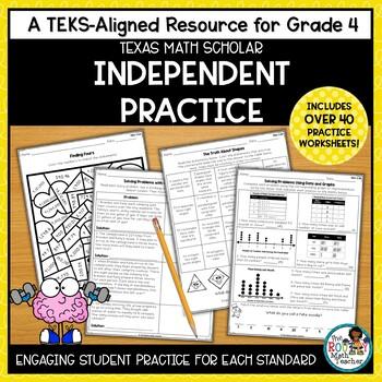 Math Worksheets Grade 4 TEKS Math Practice