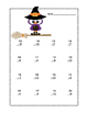 Subtraction Within 20- Worksheets-CCSS.MATH.CONTENT.1.OA.C.6-Spooky Fun