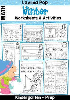 winter math worksheets activities no prep by lavinia pop tpt. Black Bedroom Furniture Sets. Home Design Ideas
