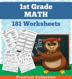 Math Worksheets for First Grade (181 Worksheets)