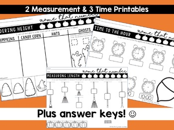 Math Worksheets for Halloween
