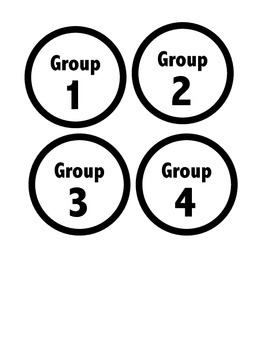 Math Workshop Rotation Board (Brights Theme)