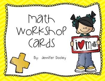 Math Workshop Cards