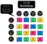Math Workshop Cards/workboard