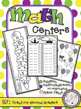 Math Workshop Centers