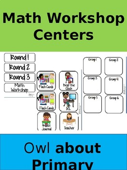 Math Workshop Centers