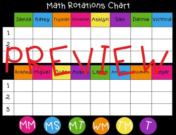 Math Workshop Choice Board - SMARTboard File