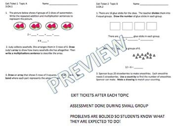 Math Workshop Engage Ny Module 1 Third Grade