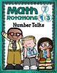 Math Workshop Guided Math {Mini-Anchor Charts} Math Rotations Turquois