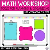 Math Workshop Group Planning Sheet