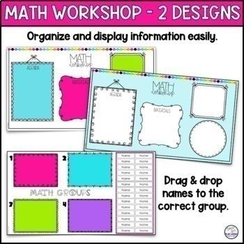 Math Workshop Group Planning Sheet