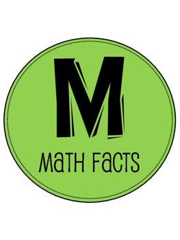 Math Workshop (Guided Math) Bulletin Board Resource Pack