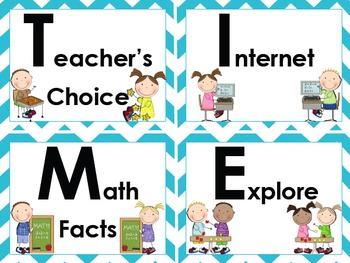 Math Workshop Headers and Common Core Practice Standard Questions