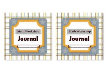 Math Workshop Journal Cover