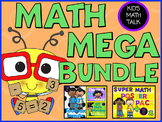 {Math Workshop} Kid's Math Talk MEGA MATH BUNDLE-Bookmarks