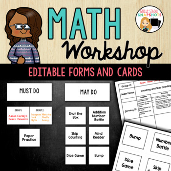 Math Workshop Made Simple