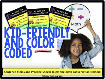 "Math Workshop ""Math Talk"" bookmarks"