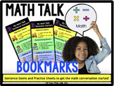 "Math Workshop ""Math Talk"" bookmarks"