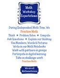 Math Workshop Poster - Anchor Chart