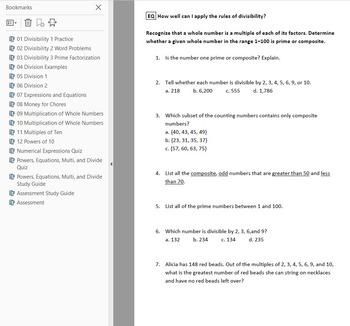 Math Workshop Resources