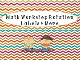 Math Workshop Rotation Labels