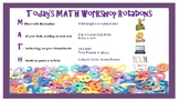 Math Workshop Rotations Powerpoint- M-A-T-H