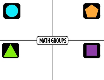 Math Workshop (Rotations for Bulletin Board)