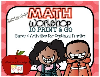 Math Games September