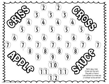 Math Games September